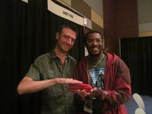 Sean Gunn and the Red Stapler