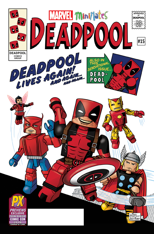 MAR169181 STL015181 DEADPOOL #15 MINIMATES VAR