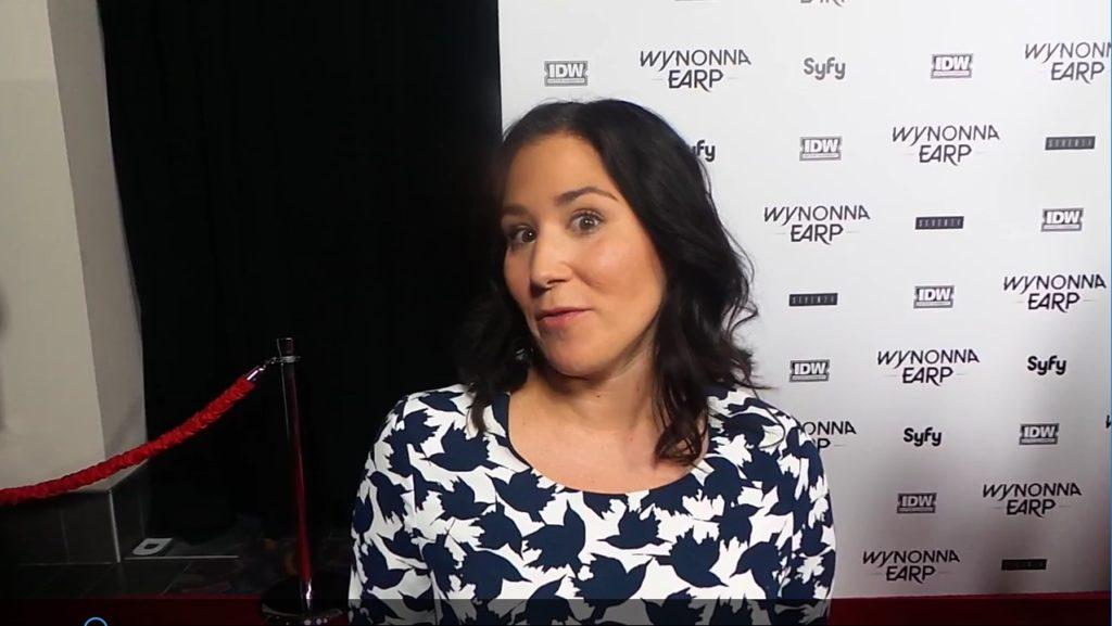 Emily Andras Wynonna Earp WonderCon Premiere