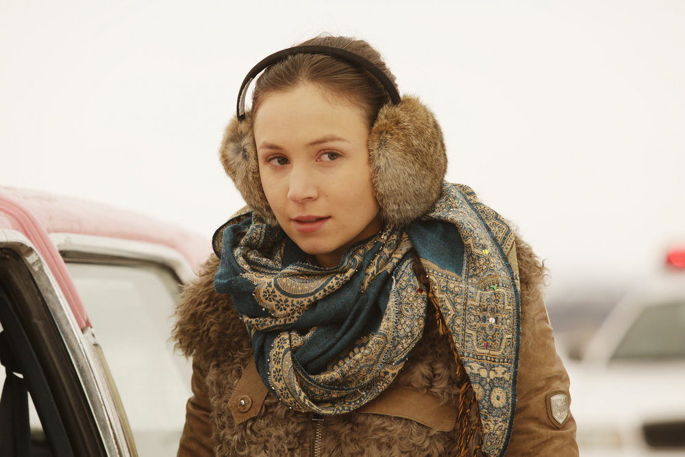"WYNONNA EARP -- ""She Wouldn't Be Gone"" Episode 110 -- Pictured: Dominique Provost-Chalkley as Waverly Earp -- (Photo by: Michelle Faye/Syfy/Wynonna Earp Productions)"