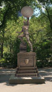 Captain America Statue - Park Simulation image