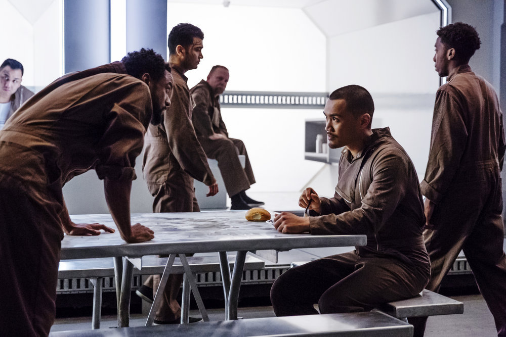 """DARK MATTER -- """"Welcome To Your New Home"""" Episode 201 -- Pictured: Alex Mallari Jr. as Four -- (Photo by: Jan Thijs/Prodigy Pictures/Syfy)"""