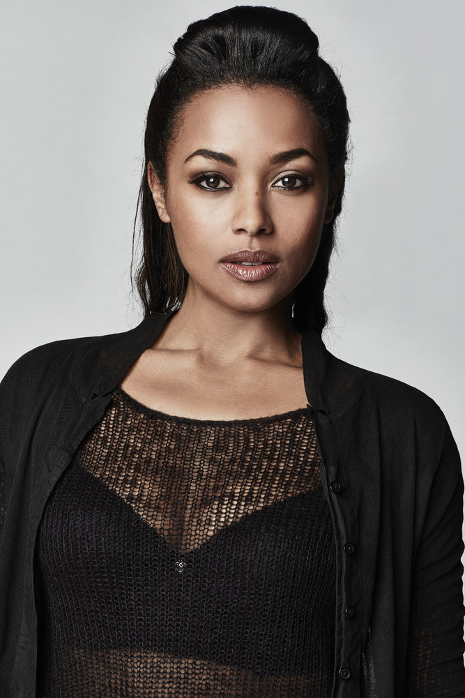 DARK MATTER -- Season:2 -- Pictured: Melanie Liburd as Nyx -- (Photo by: Norman Wong/Prodigy Pictures/Syfy)