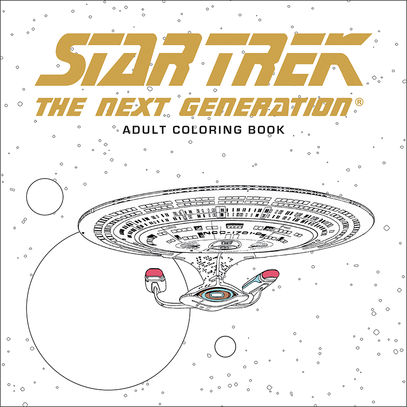 Star Trek adult coloring books are coming soon!