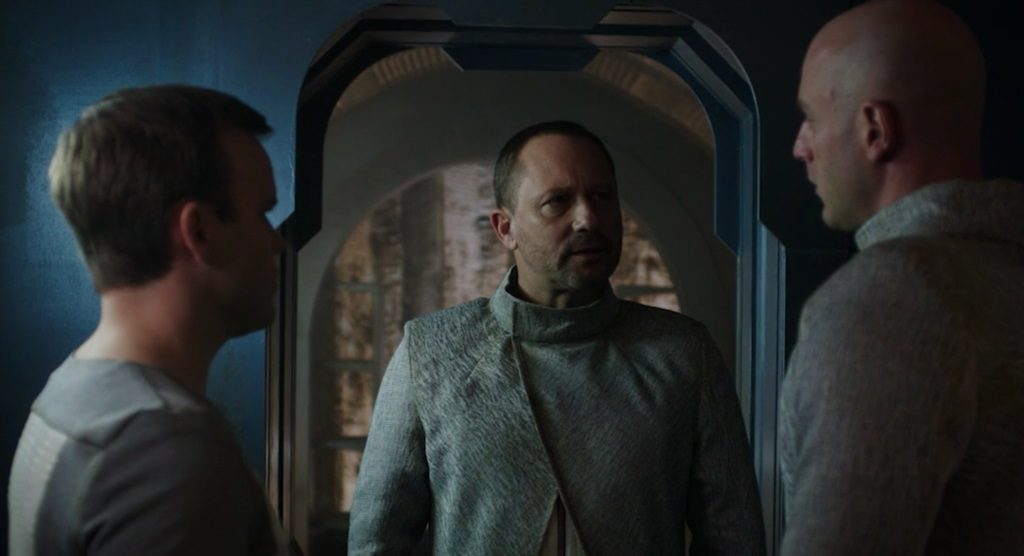 """DARK MATTER -- """"We Should Have Seen This Coming"""" Episode 206 -- Pictured: Daniel Fathers as Hansmeed"""