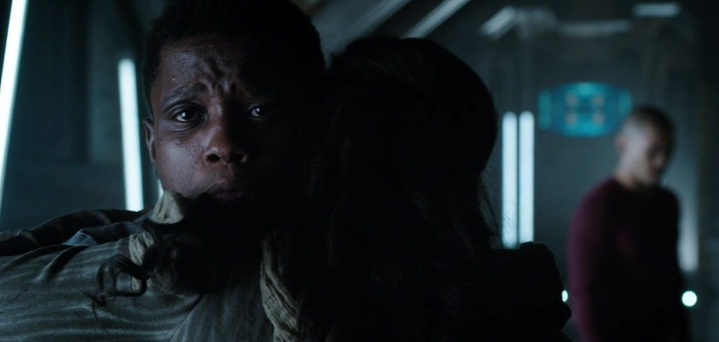 """DARK MATTER -- """"We Should Have Seen This Coming"""" Episode 206 -- Pictured: Mpho Koaho as Milo"""