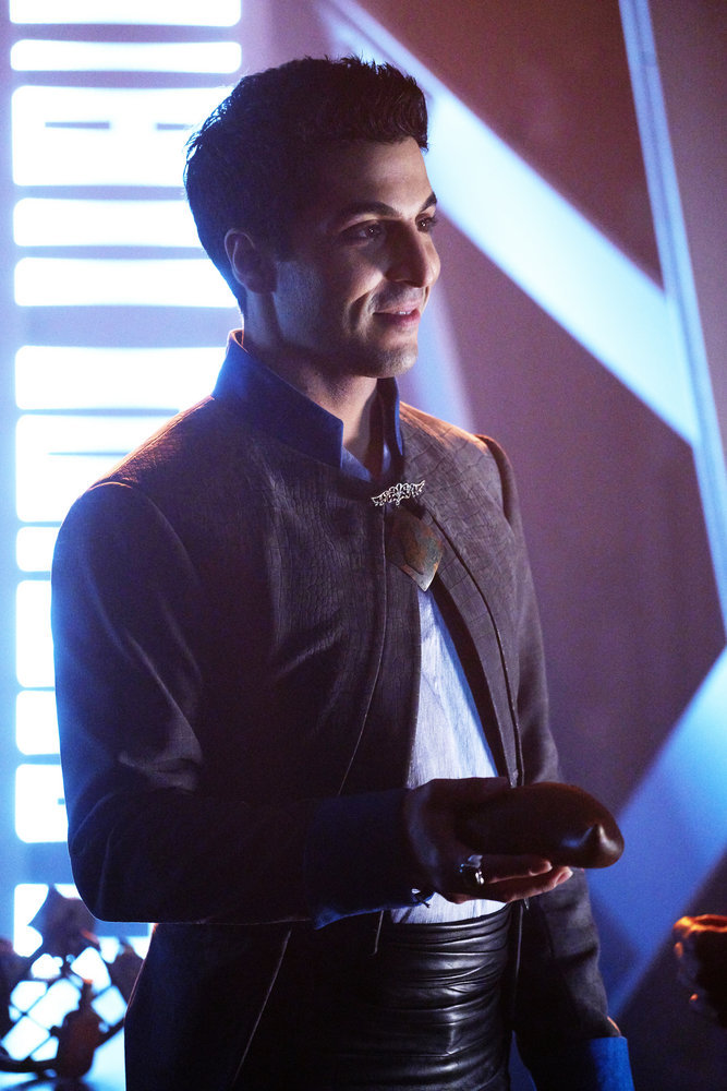 "KILLJOYS -- ""I Love Lucy"" Episode 206 -- Pictured: Keon Alexander as Sam Romwell -- (Photo by: Steve Wilkie/Syfy/Killjoys II Productions Limited)"