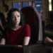 """DARK MATTER -- """"Take the Shot"""" Episode 210 -- Pictured: Jodelle Ferland as Five -- (Photo by: Russ Martin/Prodigy Pictures/Syfy)"""