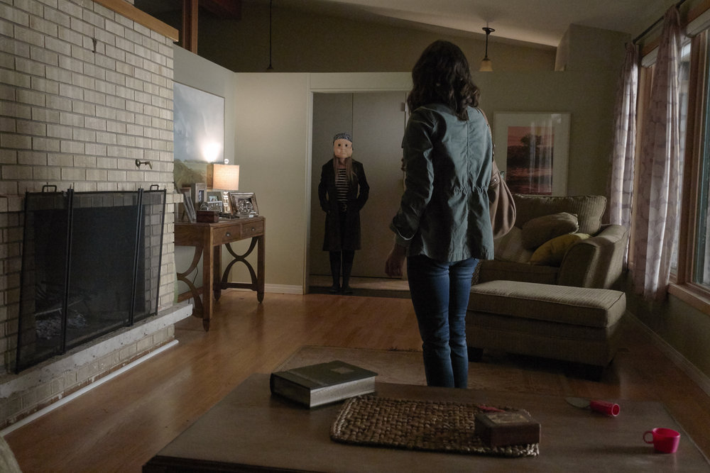 """CHANNEL ZERO: CANDLE COVE -- """"A Strange Vessel"""" Episode 104 -- Pictured: Kid of Iron Hill -- (Photo by: Allen Fraser/Syfy)"""