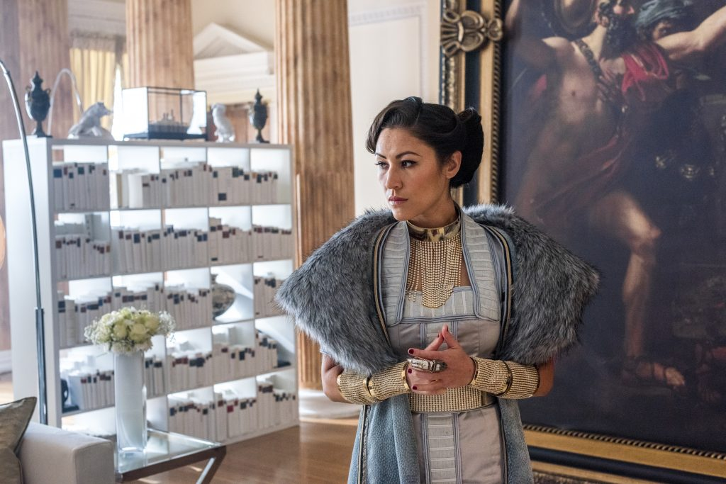 Eleanor Matsuura as Baroness Chau - Into the Badlands _ Season 2, Episode 8 - Photo Credit: Antony Platt/AMC