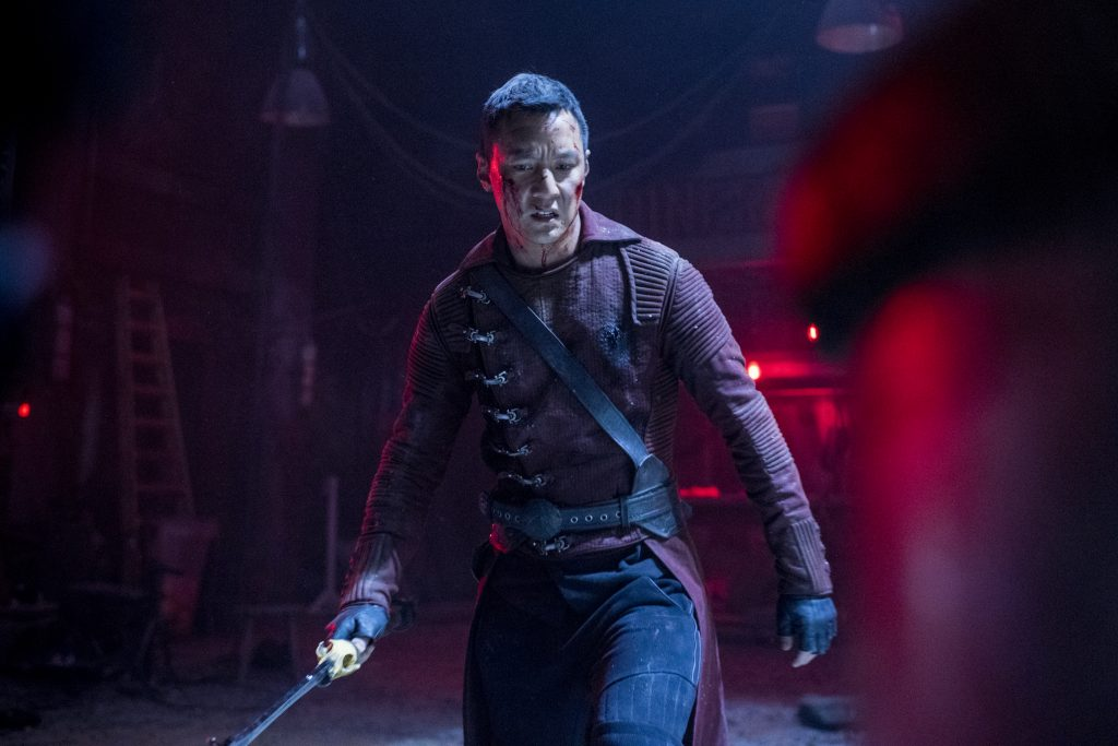 Daniel Wu as Sunny - Into the Badlands _ Season 2, Episode 10 - Photo Credit: Antony Platt/AMC