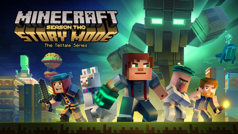 netflix minecraft story mode cast