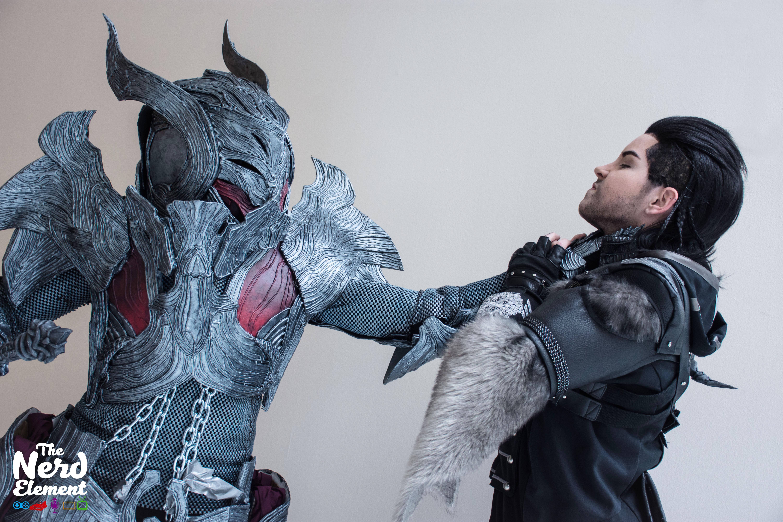 Final Showdown! General Glauca vs Nyx Ulric Cosplayers: @jlsketch and @saya_costumes
