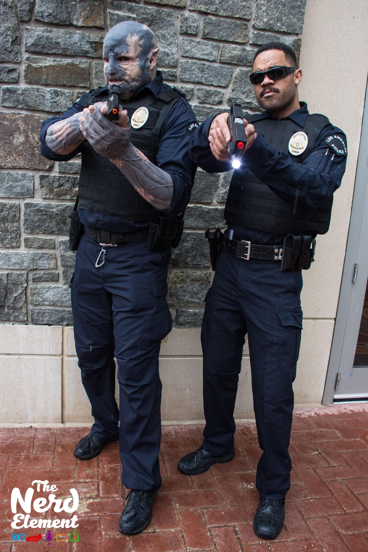 Officers Jakoby and Ward - Netflix's Bright Cosplayers: @arcanekani (ig) & @chibithetall (ig)