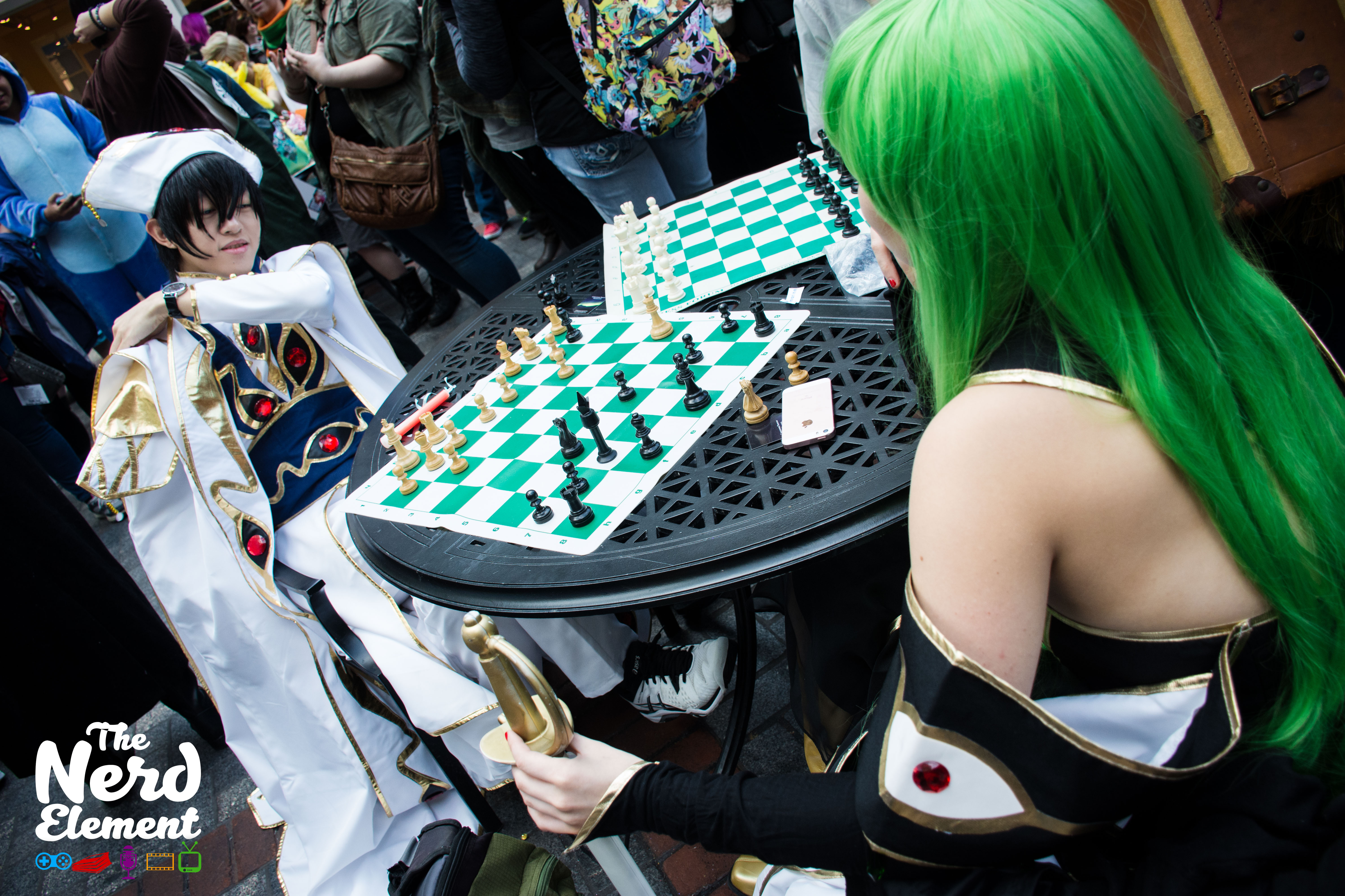 Emperor Lelouch and CC - Code Geass Cosplayers unknown