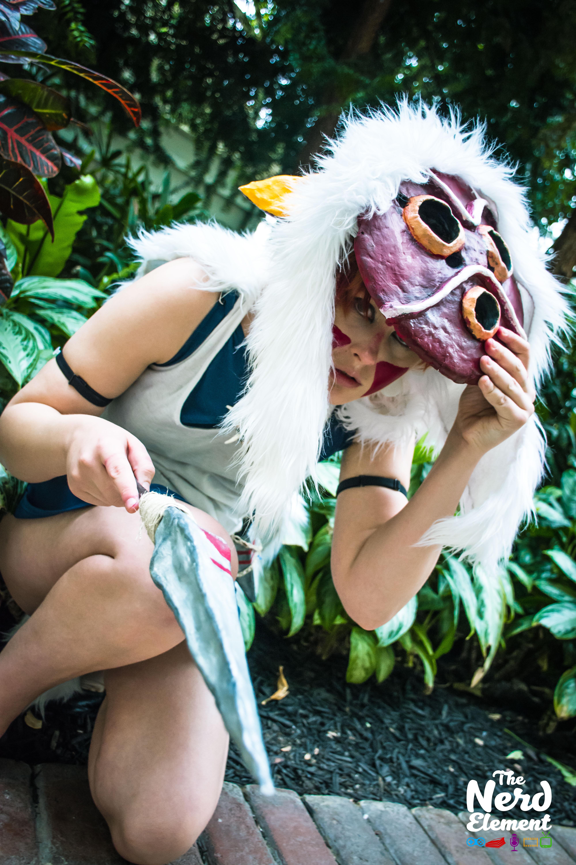 San - Princess Mononoke Cosplayer: Sienna