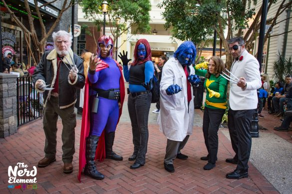 Old Man Logan, Magneto, Mystique, Beast, Jean Gray, and Logan Cosplayers: @white.oaks.walkers, @dgcollins28,  @mikettedw, @joethebeastmccoy, and @anjin.san.cosplay (ig)