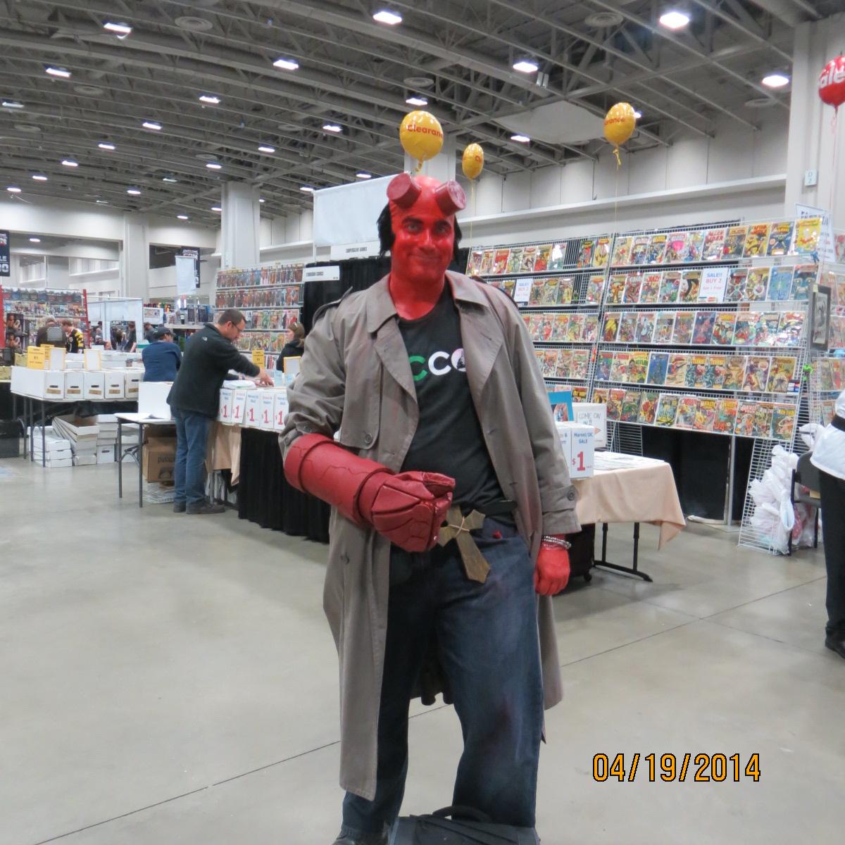 John Barclay, Hellboy