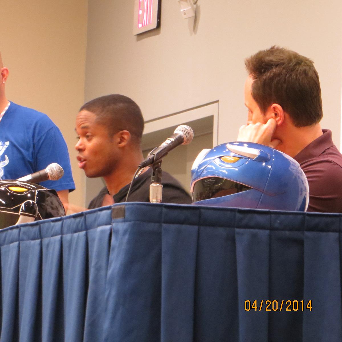 Power Rangers Q&A Panel