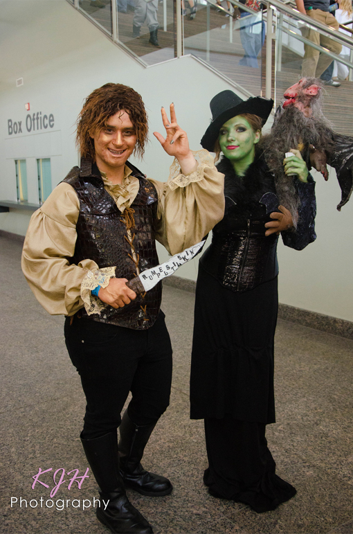 """Rumplestiltskin and The Wicked Witch of the West (Once Upon A Time"""""""