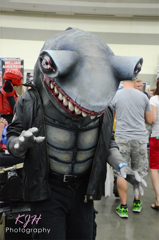King Shark from the Suicide Squad (DC Comics)
