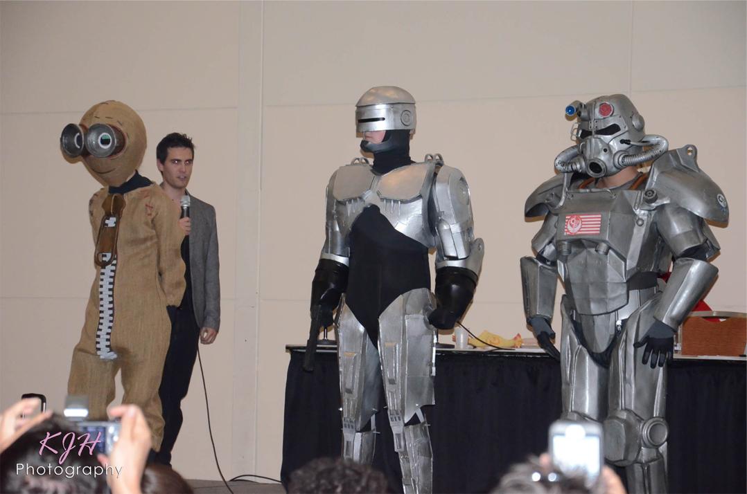 Nine, Robocop, and Brotherhood of Steel