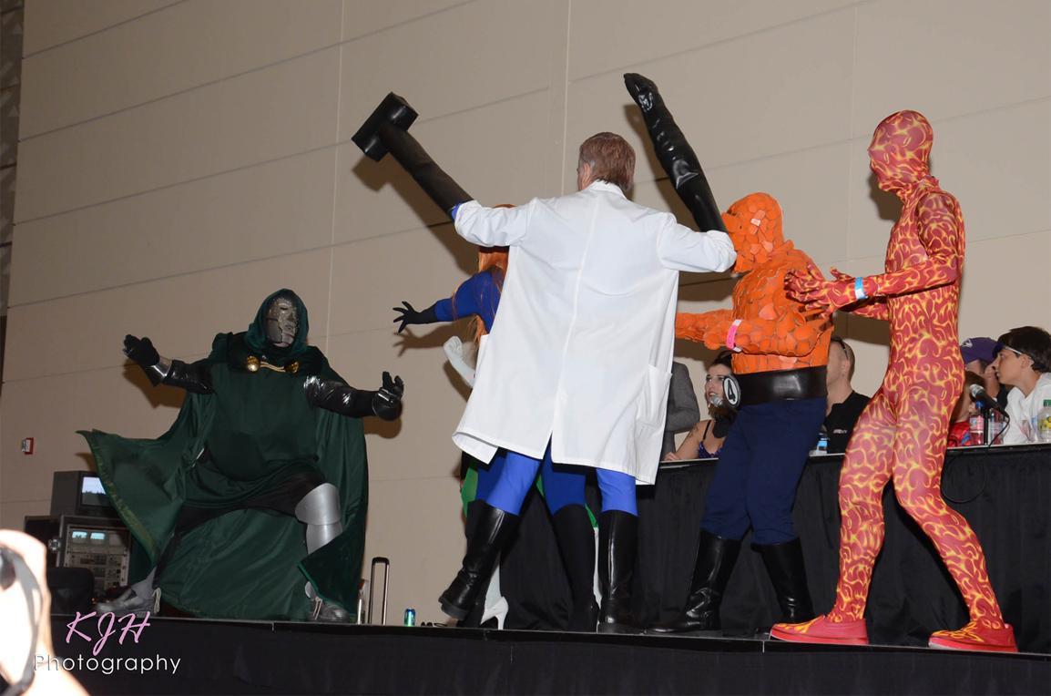Fantastic Four vs. Dr. Doom