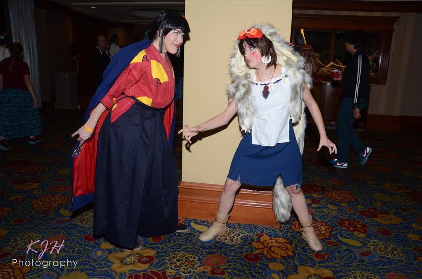 Lady Eboshi and San