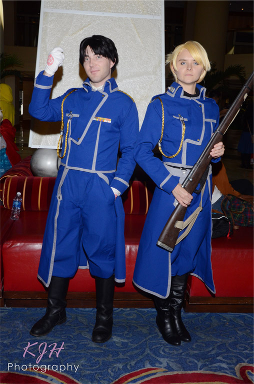 Col. Mustang and Riza Hawkeye
