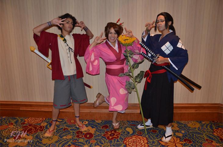 Mugen, Fuu, and Jin