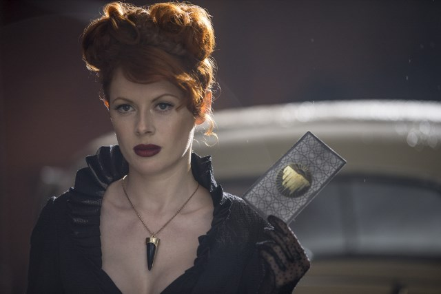 Emily Beecham as The Widow - Into the Badlands _ Season 1, Episode 1 - Photo Credit: James Dimmock/AMC