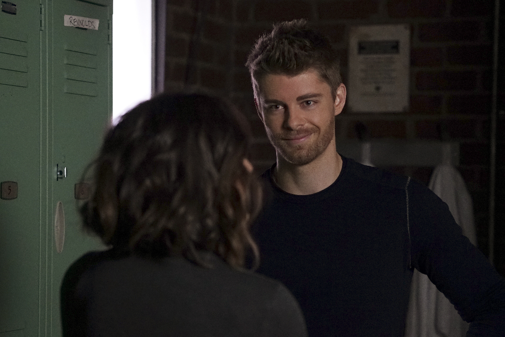 """MARVEL'S AGENTS OF S.H.I.E.L.D. - """"Bouncing Back"""" - TUESDAY, MARCH 8 (9:00-10:00 p.m. EST) on the ABC Television Network. (ABC/Eric McCandless) LUKE MITCHELL"""