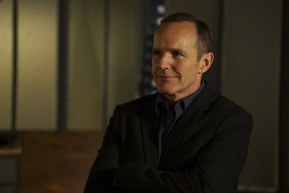"""MARVEL'S AGENTS OF S.H.I.E.L.D. - """"Bouncing Back"""" - TUESDAY, MARCH 8 (9:00-10:00 p.m. EST) on the ABC Television Network. (ABC/Eric McCandless) CLARK GREGG"""