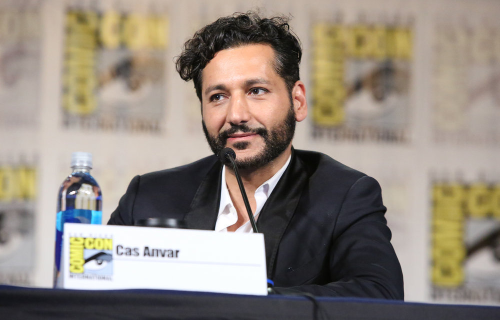 "COMIC-CON INTERNATIONAL: SAN DIEGO -- ""The Expanse Panel"" -- Pictured: Cas Anvar -- (Photo by: Evans Vestal Ward/Syfy)"