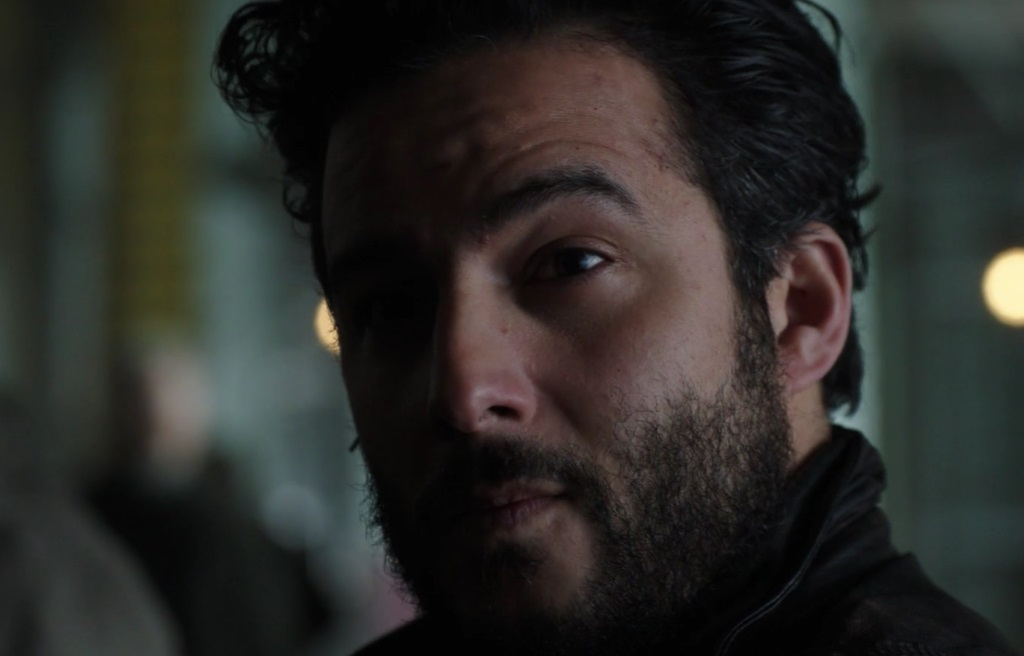 "DARK MATTER -- ""Stuff to Steal, People to Kill"" Episode 208 -- Pictured: Ennis Esmer as Wexler"