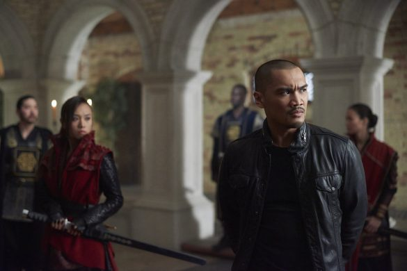 """DARK MATTER -- """"Sometimes In Life You Don't Get to Choose"""" Episode 212 -- Pictured: Alex Mallari Jr. as Four -- (Photo by: Russ Martin/Prodigy Pictures/Syfy)"""