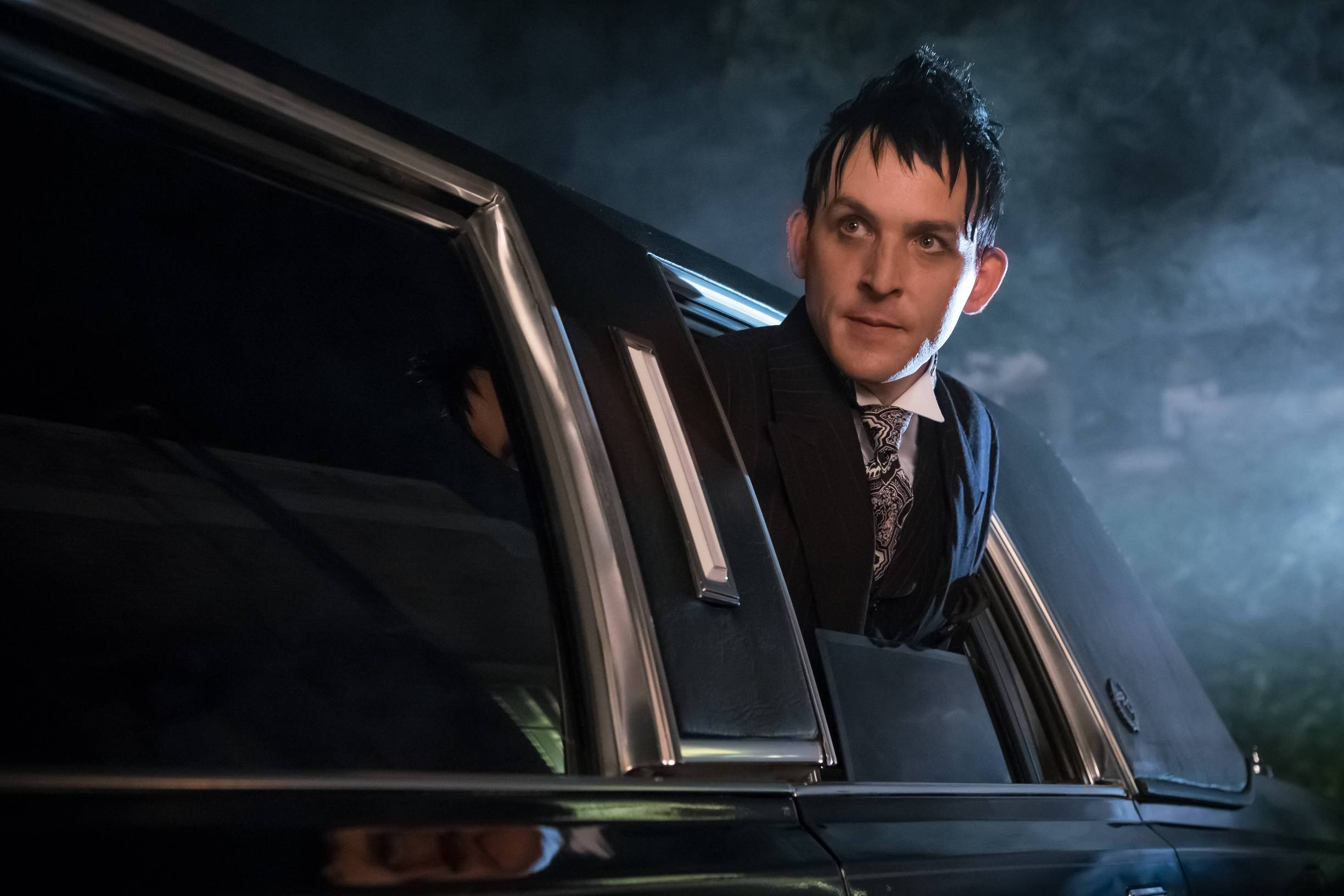 GOTHAM: Robin Lord Taylor in the Mad City: Look Into My Eyes  episode of GOTHAM airing Monday, Oct. 3 (8:00-9:01 PM ET/PT) on FOX.  ©2016 Fox Broadcasting Co. Cr: Jeff Neumann/FOX.
