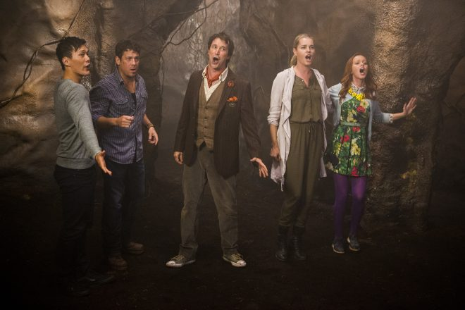 """The Librarians Episode 301 """"And the Rise of Chaos"""" 5/6/16 IMG_8411"""