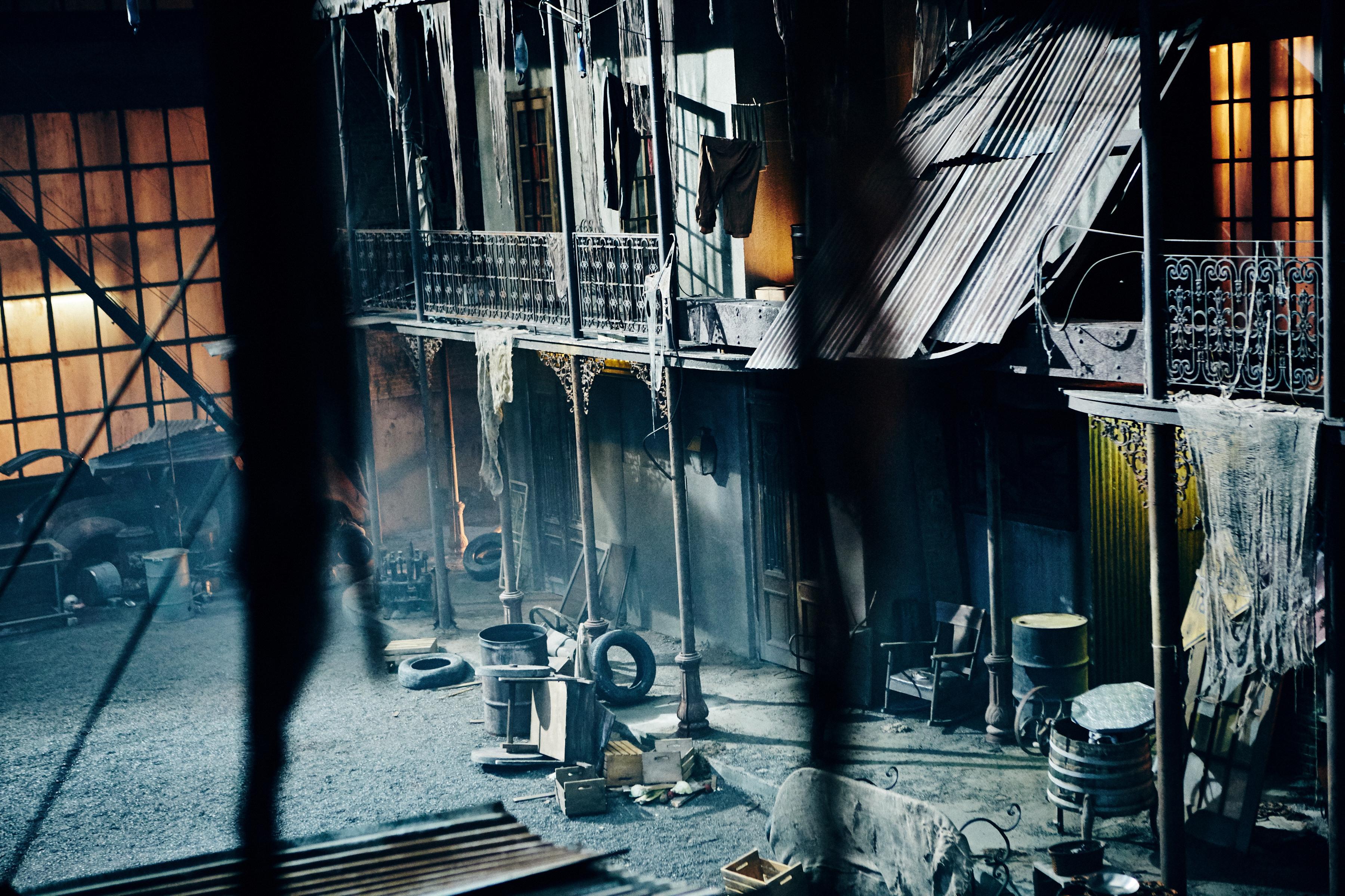 Behind the Scenes - Into the Badlands _ Season 1, Episode 6 - Photo Credit:  James Dimmock/AMC