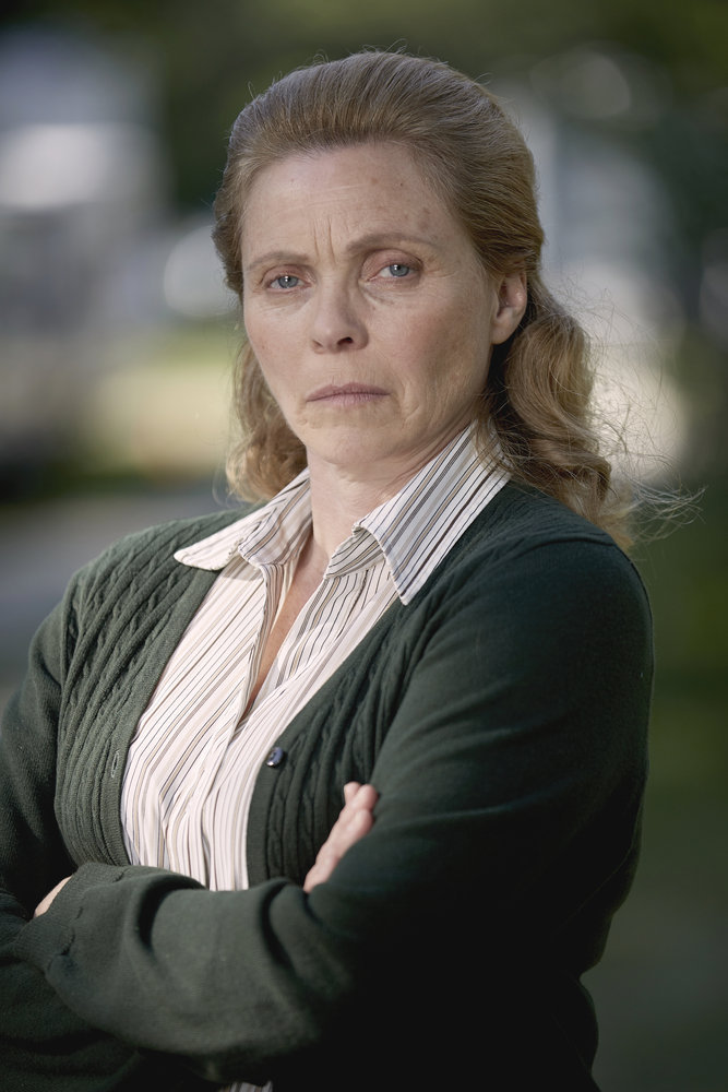 CHANNEL ZERO: CANDLE COVE -- Season:1 -- Pictured: Marina Stephenson Kerr as Mrs. Booth -- (Photo by: Allen Fraser/Syfy)