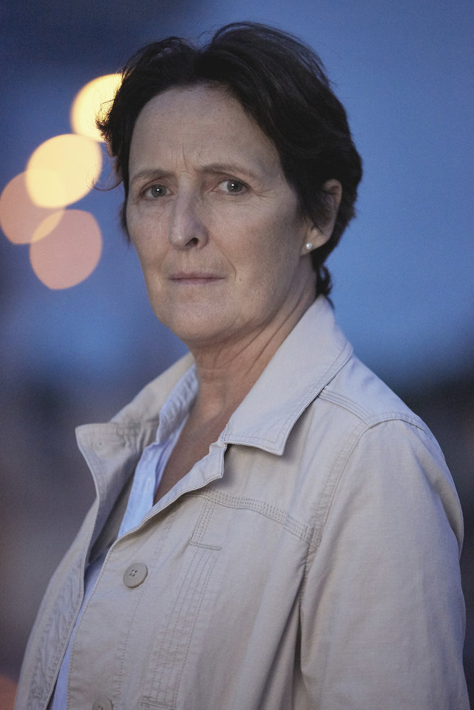 CHANNEL ZERO: Candle Cove -- Season:1 -- Pictured: Fiona Shaw as Marla Painter -- (Photo by: Allen Fraser/Syfy)