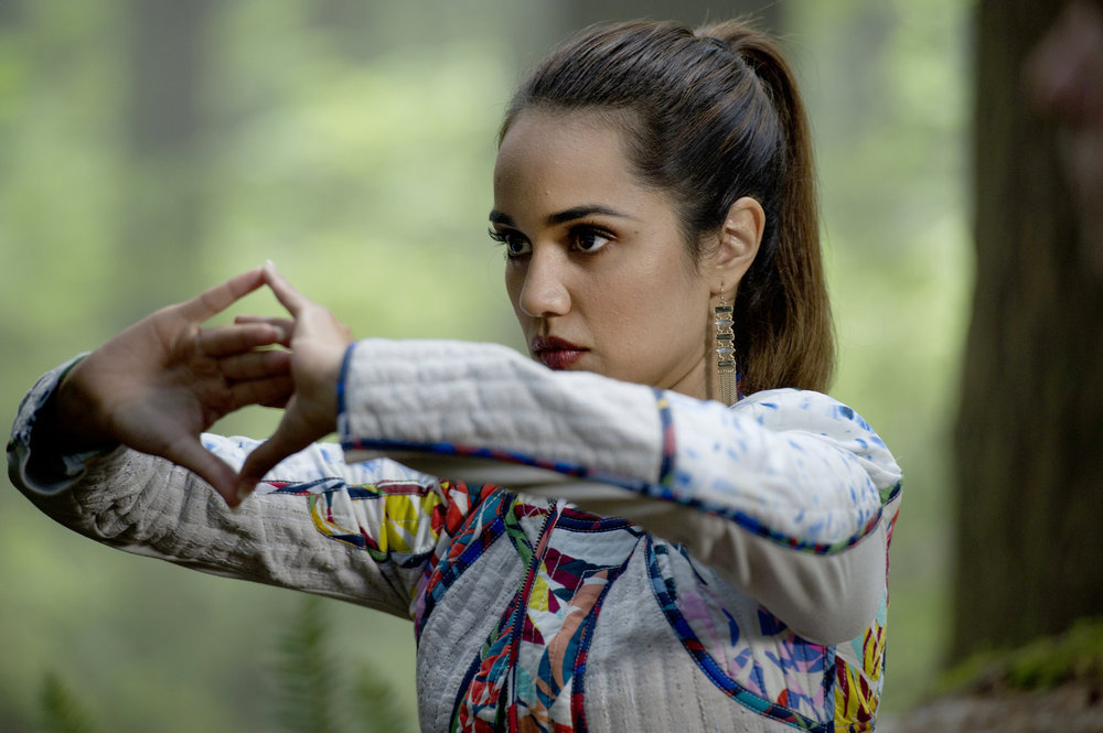 """THE MAGICIANS -- """"Divine Elimination"""" Episode 203 -- Pictured: Summer Bishil as Margo -- (Photo by: Carole Segal/Syfy)"""