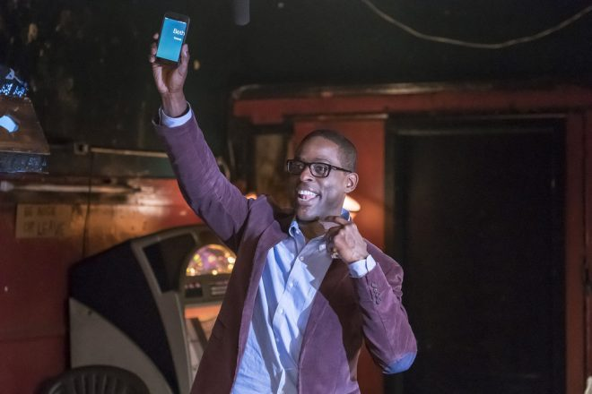 """THIS IS US -- """"Memphis"""" Episode 116 -- Pictured: Sterling K. Brown as Randall -- (Photo by: Ron Batzdorff/NBC)"""