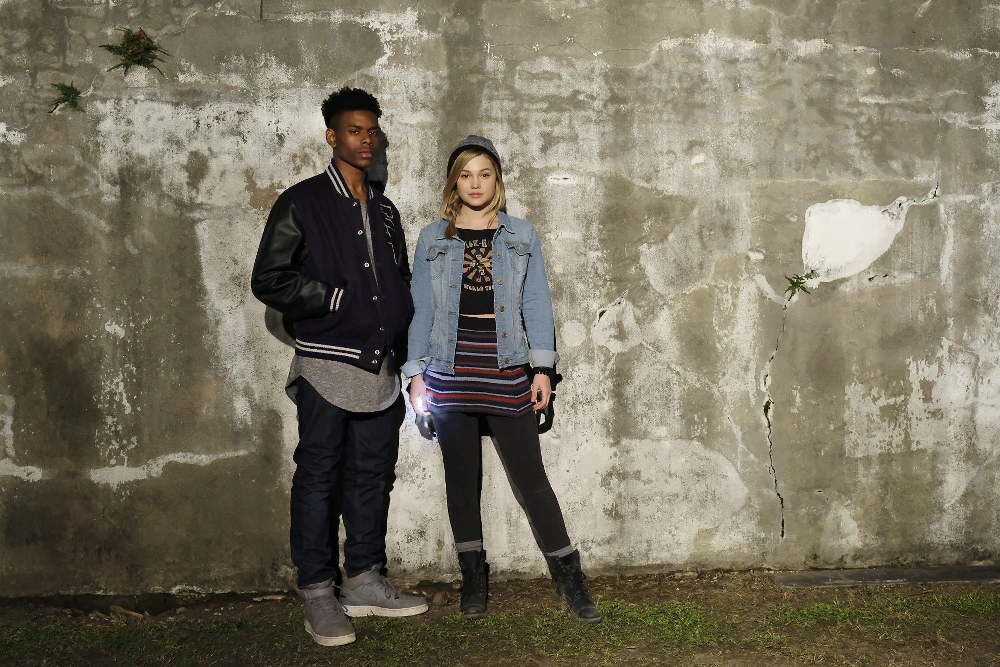 """Marvel's Cloak & Dagger"" stars Aubrey Joseph as Tyrone Johnson/Cloak and Olivia Holt as Tandy Bowen/Dagger. (Freeform/Alfonso Bresciani)"