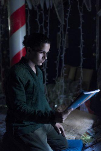 Aramis Knight as M.K.- Into the Badlands _ Season 2, Episode 6 - Photo Credit: Antony Platt/AMC