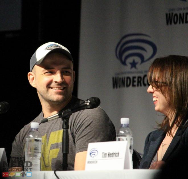 Executive Producers Joaquim Dos Santos and Lauren Montgomery at Voltron Panel