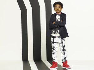 "BLACK-ISH - ABC's ""black-ish"" stars Miles Brown as Jack Johnson. (ABC/Bob D'Amico)"