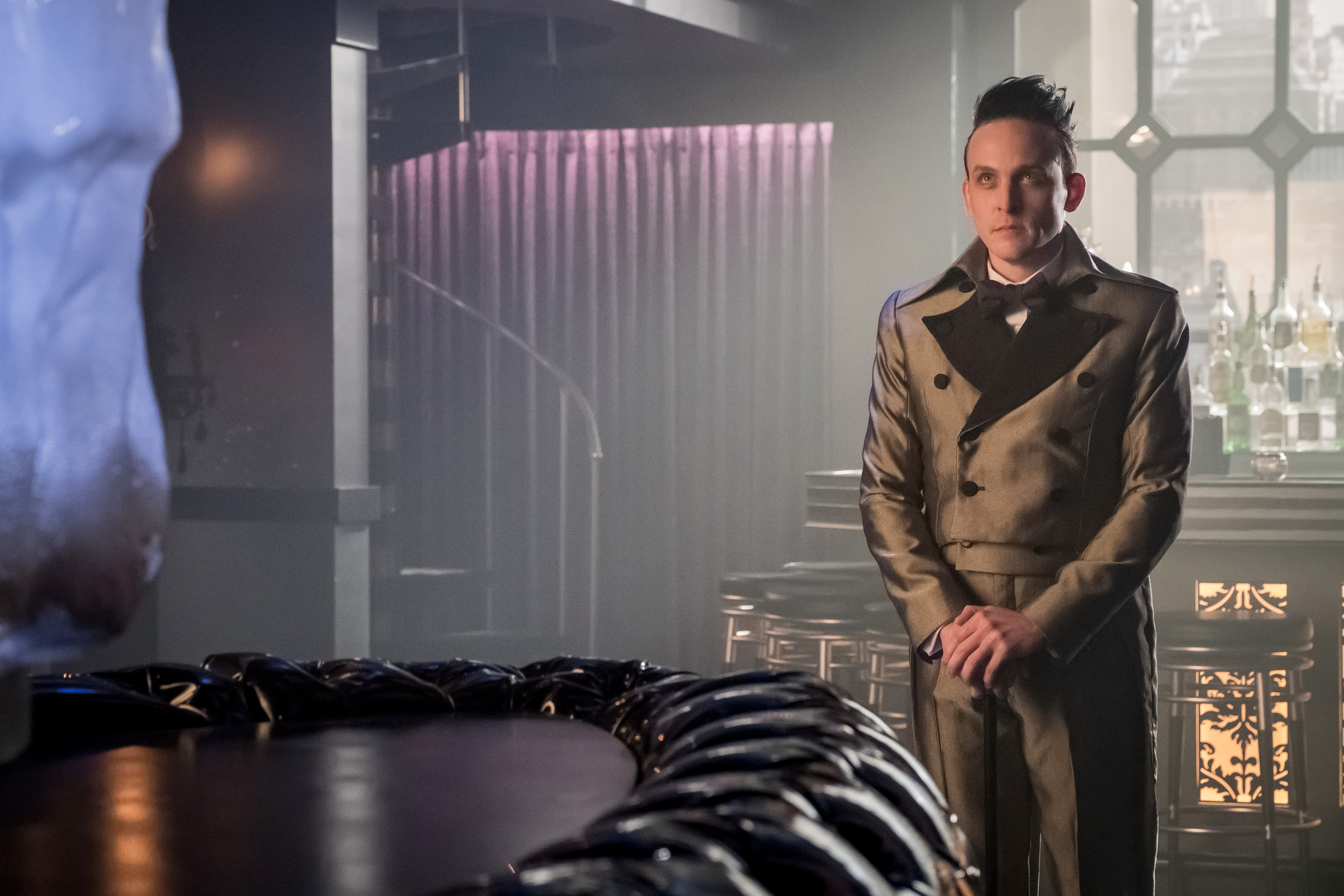 "Robin Lord Taylor in the ""Pax Penguina"" season premiere episode of GOTHAM ©2017 Fox Broadcasting Co. Cr: Jeff Neumann/FOX."