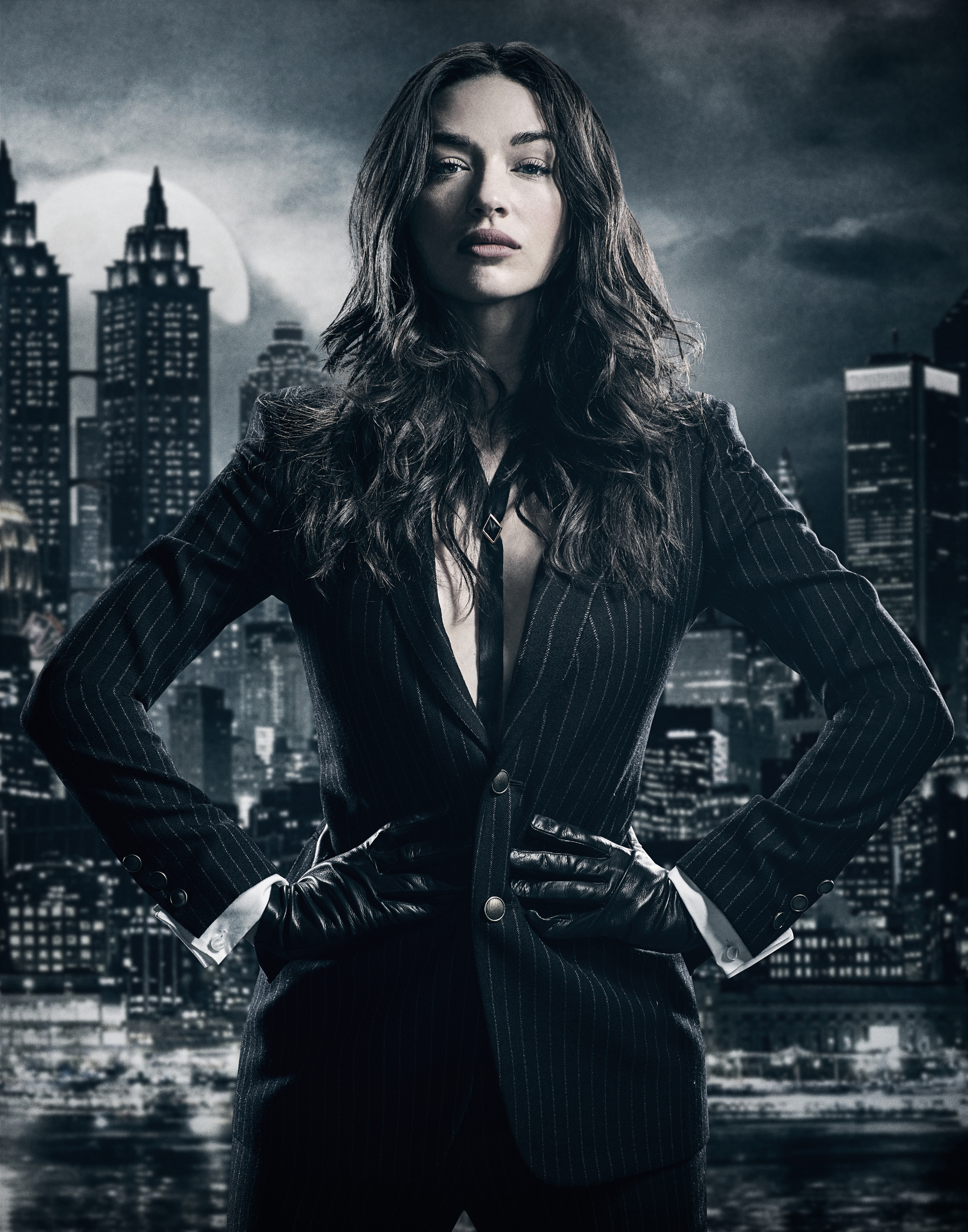 GOTHAM: Crystal Reed.©2017 Fox Broadcasting Co. Cr: TOMMY GARCIA / FOX