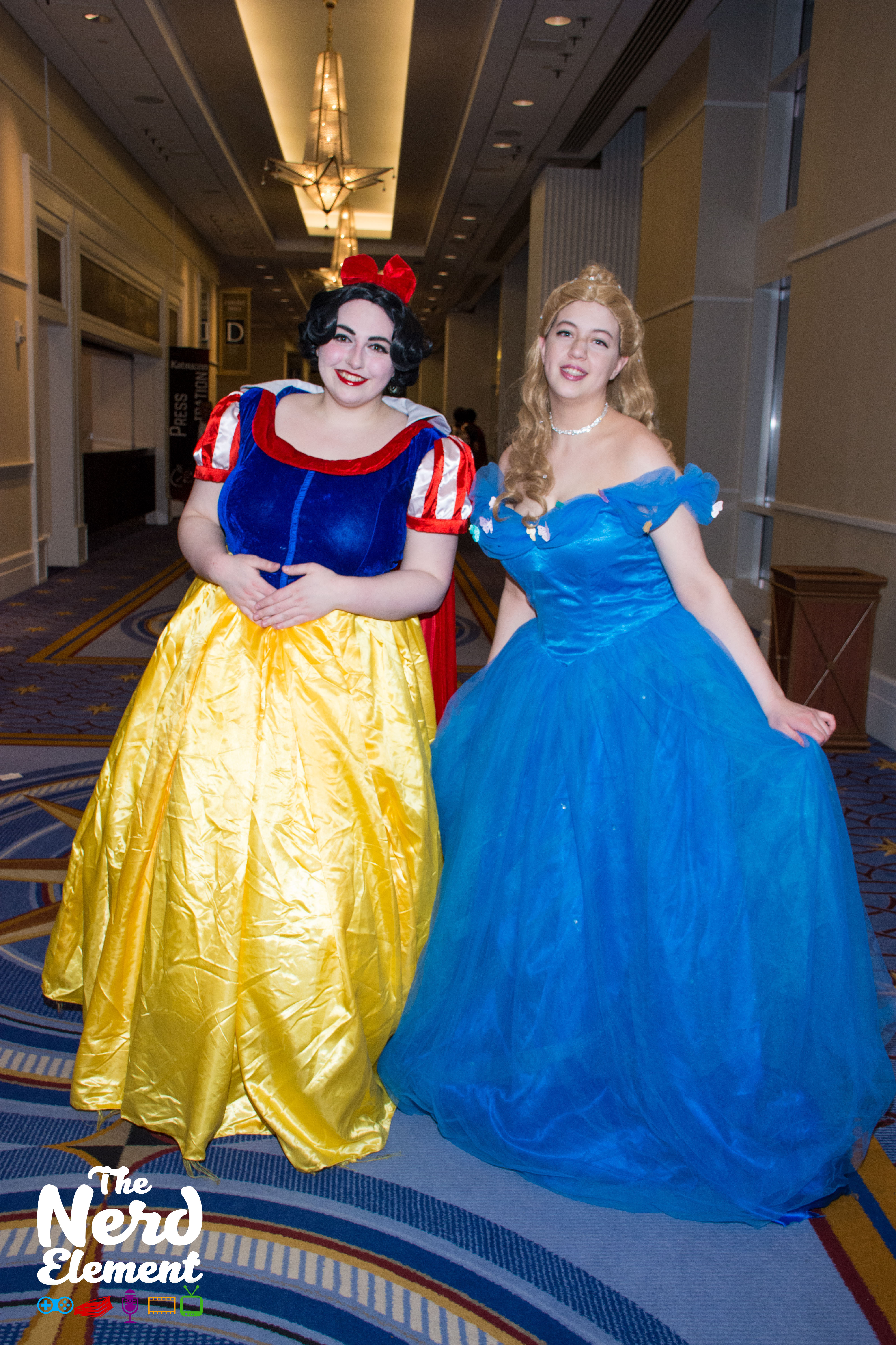 Disney's Snow White and Cinderella  Cosplayers unknown